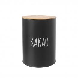 Dóza Kakao BLACK pr. 11 cm